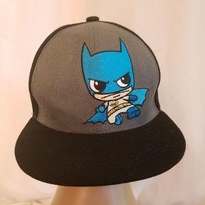 Batman Snapback Hat Baseball Cap DC Superhero Embr